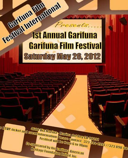 Garifuna Film Festival, May 26, 2012 in Los Angeles