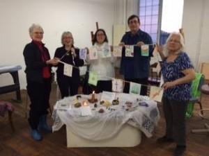 Abbey of HOPE members celebrate World Interfaith Harmony Week.
