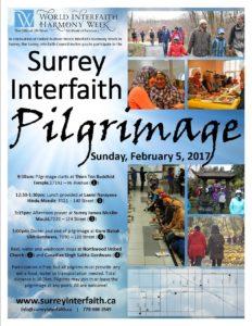 Surrey Interfaith Pilgrimgae