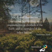 "#TangibleHope Diary Entry #4: ""Bearing witness to, and responsibility for, the Earth"" by Katherine Hreib, Environmental Network Coordinator at the United Religions Initiative"