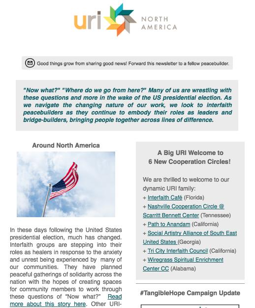 URI North America_November_Newsletter_2016