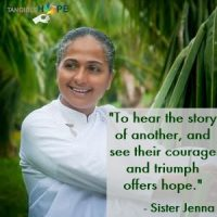 "#TangibleHope Diary Entry #3: ""The Power of Choice"" by Sister Jenna, spiritual leader, author, radio and TV personality, renowned speaker and founder of the Meditation Museum I & II"