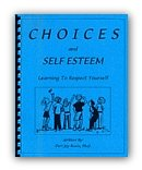 Choices and Self Esteem Workbook  Cover