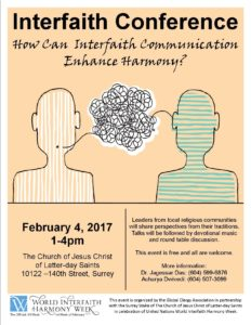 WIHW Interfaith Conference