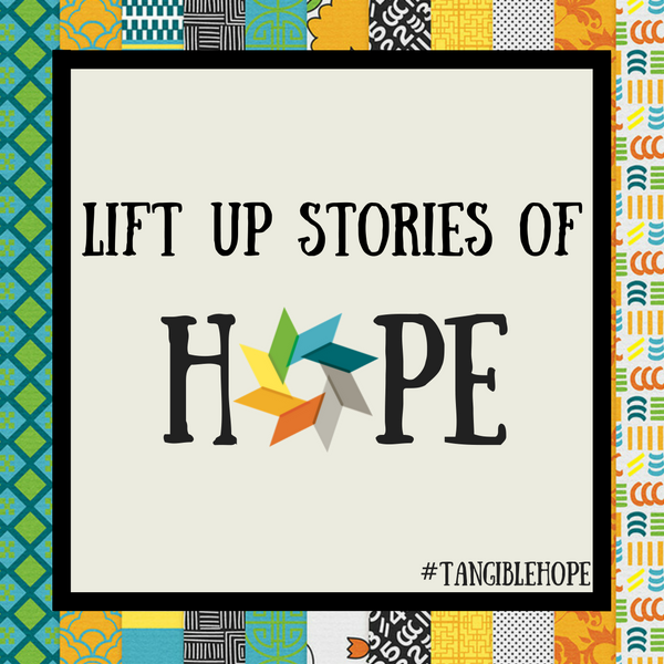 tangible hope #Tangiblehope crowdfunding graphic