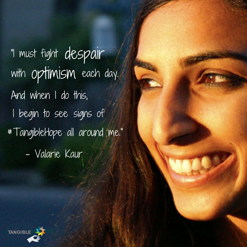 Valarie Kaur's #TangibleHope Diary