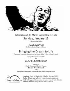 MLK Celebration in Marin